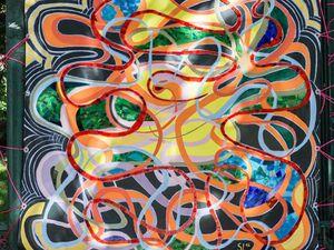 Exposition &quot&#x3B;LE FIL DE LA VIE &quot&#x3B; &amp&#x3B; Sophie Dubromel Rippe
