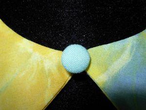 2014.04.15 - Autres cols Claudine en soie, voile de coton et coton imprimé