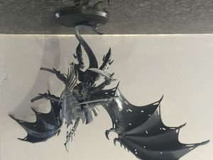 New project : Tyranid Hivefleet Cthulhu Flying Swarmlord