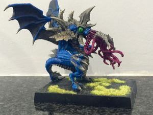 Hordes &quot&#x3B;Everblight&quot&#x3B; Cthulhu finished