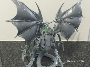 New Tyranid project : huge Flying Tyrant