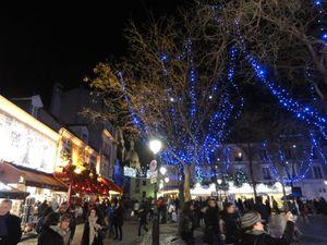 Montmartre en hiver et illuminé !