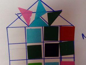 L'atelier des gommettes des enfants de maternelle ( de 3 a 6 ans)