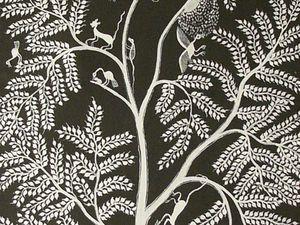 L'arbre de vie des Warlis, avatar de la grande Mère Palaghata
