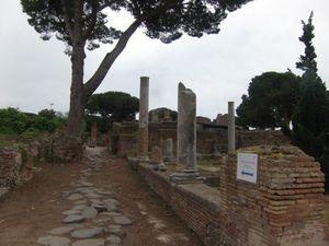 Voyage.....Vacances romaines... Un dimanche à Ostie.
