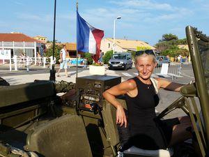 L'association OVERLORD et ses véhicules militaires conviés pour le défilé.