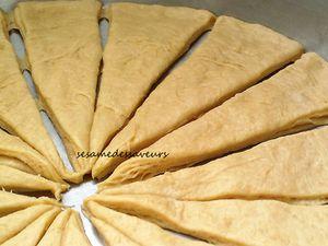 Croissants à la marocaine