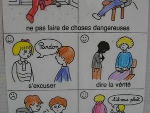 Les règles de vie de la classe