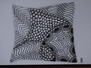 Zentangle - suite et méthode