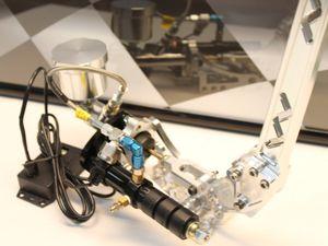 Nouveau frein à main de chez Derek Speare Design, le T3 Hydraulique Handbrake