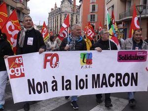Premier mai au Puy: dans la continuité du 9 avril