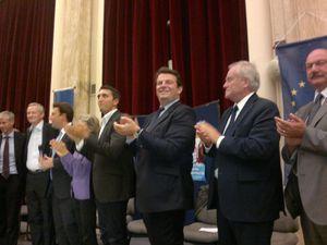 Présidence de l'UMP : Réunion publique de Bruno LE MAIRE