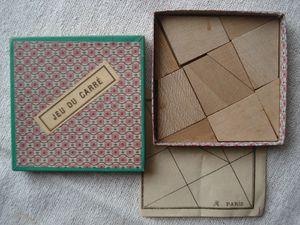 le jeu du carré, le jeu de la croix...