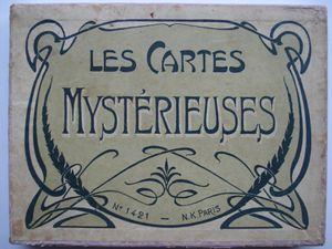 les cartes mystérieuses
