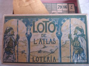 les chapeaux valseurs petit format, le loto de l'atlas