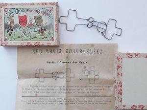 les croix ensorcelées , la croix endiablée ( non signé JLR )