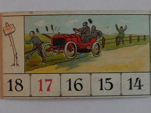 Paris-Madrid 1903 :les Teuf-Teuf à fond la caisse