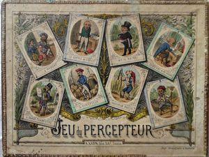 jeu du percepteur, coffret 27 x 21 cm