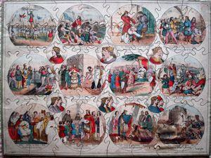 Histoire de France, puzzle édité par Lion