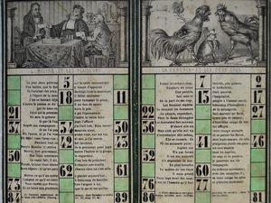 loto des fables, cartons 12 à 24