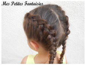Dutch braid ou tresse française !