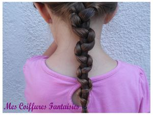 La tresse serpent : Snake braid !