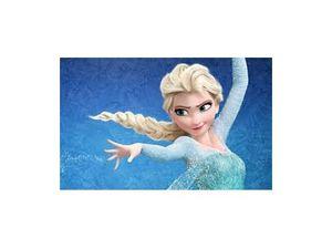 Coiffure Elsa &quot&#x3B; La Reine des Neiges &quot&#x3B; au moment de sa libération !