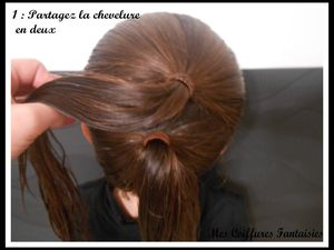 Chignon Bonhomme de neige + message important !