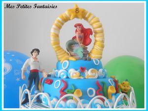Gâteau : &quot&#x3B;La Petite Sirène&quot&#x3B; -  recette de &quot&#x3B; L' Angel Cake &quot&#x3B; !