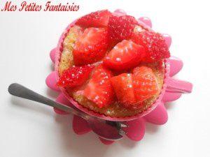 Mug Cake à la fraise !