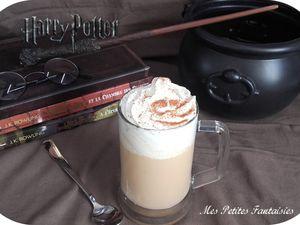 La Bière au beurre en deux versions , comme dans Harry Potter !