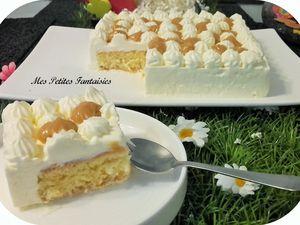 Gâteau aux trois laits !