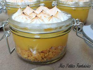 Bocaux façon tarte aux citrons meringuée !
