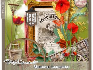 Kit &quot&#x3B; Summer memories&quot&#x3B; de S .Designs