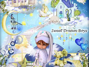 Kit Sweet Dream Boys de Stephy scrap
