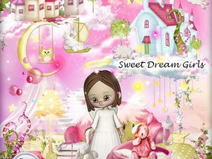 Kit Sweet Dream Girls de Stephy scrap