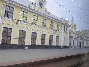 La gare de Terespol. Ph. Delahaye.