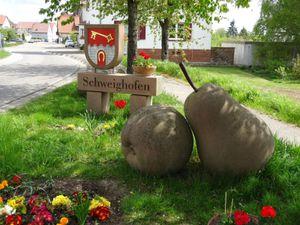 Les jolis petits coins aménagés du côté allemand.