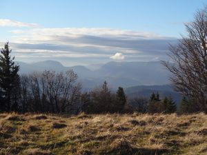 Pause au sommet du Molkenrain. Que la vue est belle !