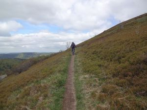 Nous poursuivons en tutoyant le Batteriekopf puis le Rothenbachkopf, mais sans monter sur les sommets.