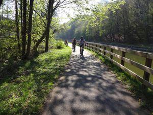 Et la piste cyclable nous reconduit à Saverne. Un belle journée et plein de souvenirs pour ceux et celles qui se sont joints à nous.