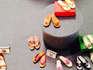 Des mini shoes, trop choutes !!!! Rhooo j'adore. Made in Italy, of course.