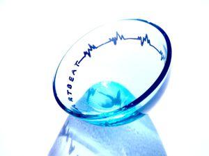 Heartbeat & Skyline, coupelles asymétriques customisées (en vente)