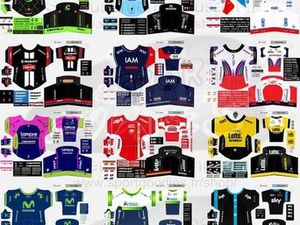 Maillots World Tour 2015
