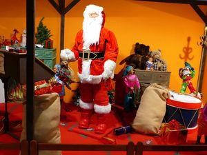Quelques instantanés présentant cette collection d'automates de Noël (décembre 2015, images personnelles)