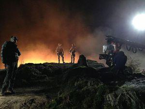 Quelques photos du tournage sous la direction de Gareth Edwards