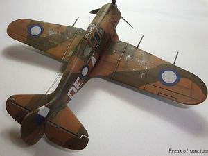 Le Commonwealth CA-12 Boomerang - Airfix - 1/72.
