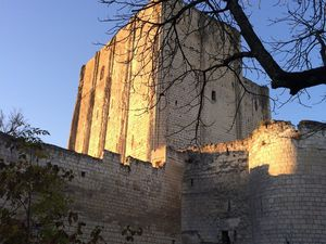 The castle of Loches.
