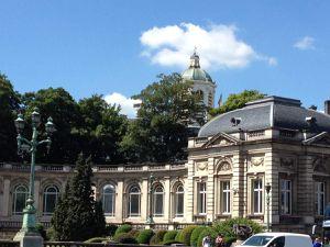 Palais royal et jardin Mont des arts