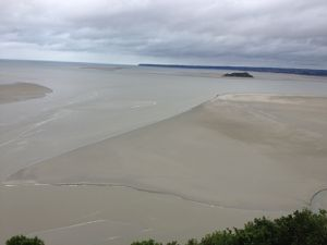 La marée de la baie